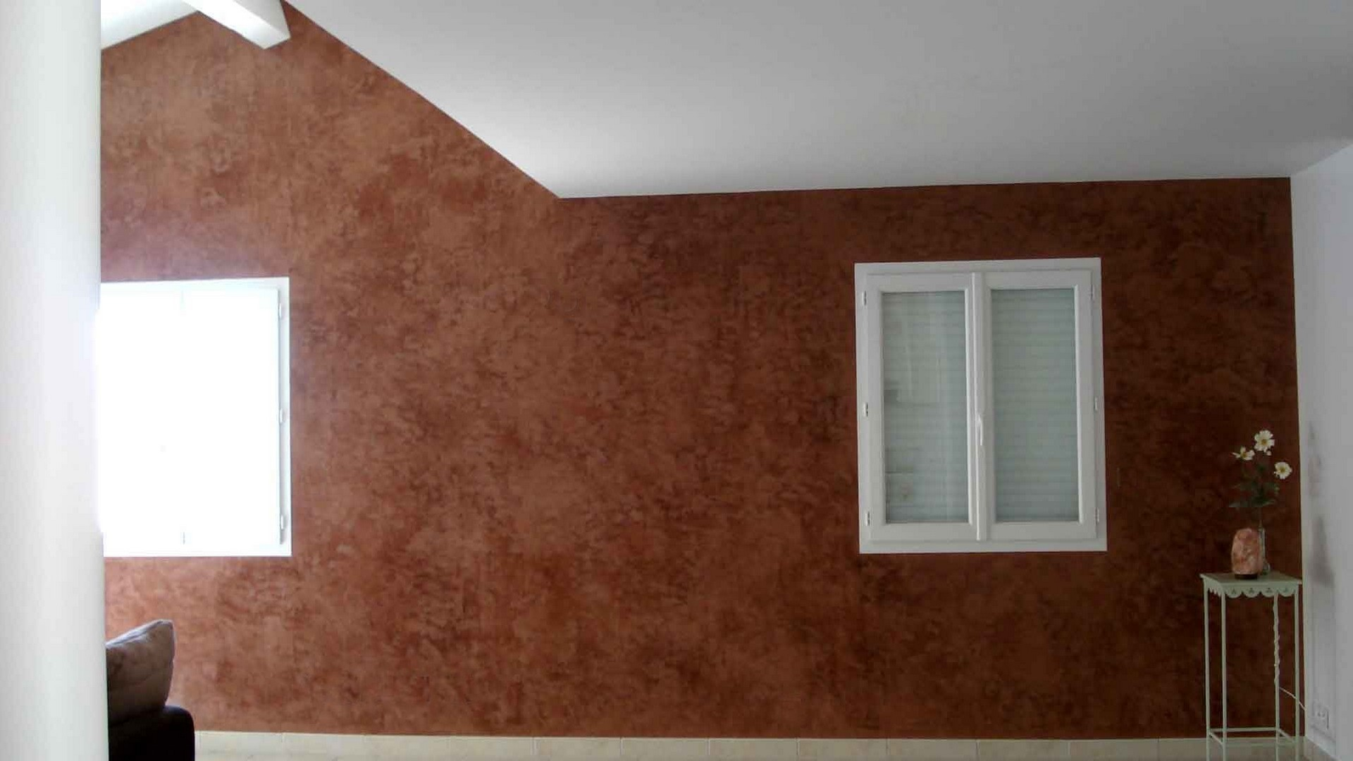 Stucco vénitien « brun étrusque »